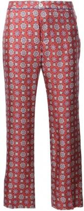 For Restless Sleepers floral print cropped trousers
