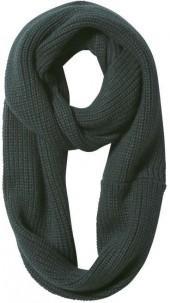 Joe Fresh Shaker Knit Circle Scarf - Dark Green