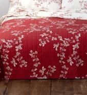 Organic Fiore Reverse Print Quilt