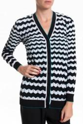 M Missoni Cardigan Black/White
