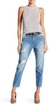 Siwy Denim Sylvie Distressed Boyfriend Jean