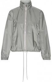 Prada - Hooded Shell Jacket - Gray