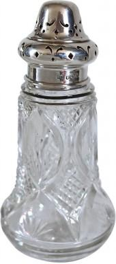 One Kings Lane Vintage Walker & Hall Sterling Top Sugar Shaker