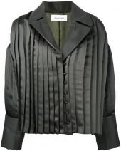 Donnah Mabel pleated trim jacket