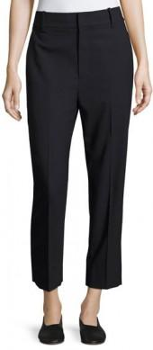 Vince Stove Pipe Stretch Trouser Pants