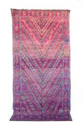 "Vintage Talsint Moroccan Berber Rug, 5'9"" x 11'3"" feet"