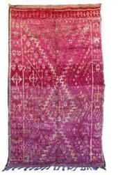 "Vintage Beni M'Guild Moroccan Berber Rug, 6'5"" x 10'10"" feet"