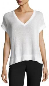 Brunello Cucinelli Paillette-Embellished Short-Sleeve Sweater