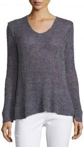 Bobeau Britta Loose-Weave Sweater