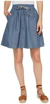 Alternative - Chambray Skater Skirt Women's Skirt