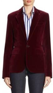 Ralph Lauren Collection Cotton Velvet Jacket