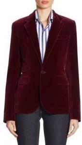 Ralph Lauren Collection Cotton Velvet Jacket