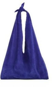 The Row Suede Bindle Bag