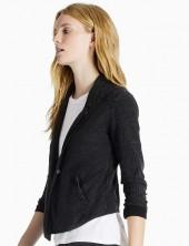 Washed Jacquard Blazer