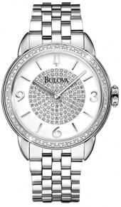 Analog Display Diamond Bezel Bracelet Watch