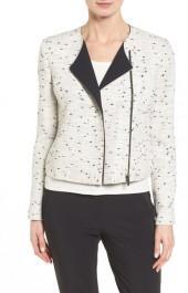 Classiques Entier Asymmetric Zip Collarless Jacket