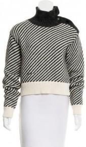 Derek Lam Striped Turtleneck Sweater w/ Tags