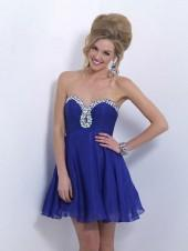 Blush - X161 Strapless Sweetheart A-line Dress