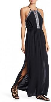 Dex Embroidered Maxi Dress