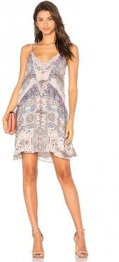 Parker Magda Combo Dress in Pink