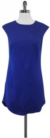 Trina Turk Blue Sleeveless Dress