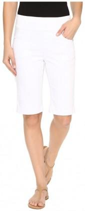 FDJ French Dressing Jeans D-Lux Denim Pull-On Bermuda in White