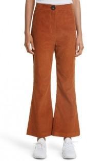 Women's A.w.a.k.e. Crop Flare Corduroy Trousers