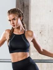 Victorias Secret Laser-cut High-neck Sport Bra