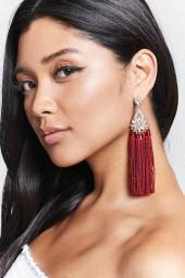 FOREVER 21 Tassel Drop Earrings