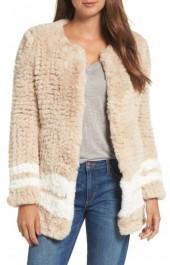 Women's Love Token Faux Fur Jacket
