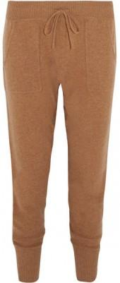 Eres - Frileuse Ardent Wool And Cashmere-blend Track Pants - Tan