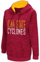 Campus Heritage Women's Campus Heritage Iowa State Cyclones Throw-Back Pullover Hoodie
