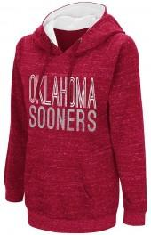 Campus Heritage Women's Campus Heritage Oklahoma Sooners Throw-Back Pullover Hoodie