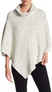 Joie Haesel Cowl Wool Blend Poncho