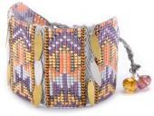 Mishky Yeyi & Leaves Beaded Bracelet Set