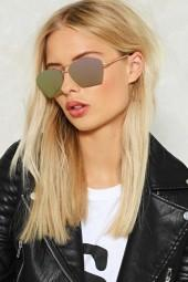 nastygal Love is Blinding Angular Shades
