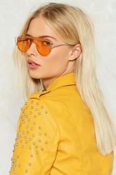 nastygal Clearly Perfect Visor Shades