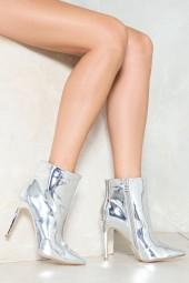 nastygal Pedal to the Metal Point Boot