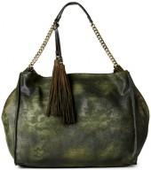moda luxe Olive Floral Hobo Bag