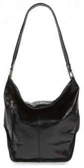 Hobo 'Meredith' Leather Bucket Bag - Black