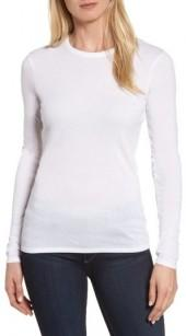 Women's Nordstrom Signature Crewneck Rib Knit Top