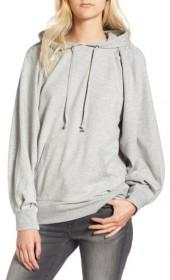 Women's Treasure & Bond Pleated Sleeve Hoodie