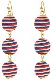 SHASHI - Matilda Stripe Linear Drop Earrings Earring