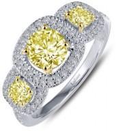 Women's Lafonn Simulated Diamond Halo Ring