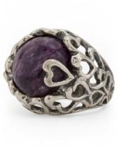 Made In Israel Sterling Silver Chaorite Ring