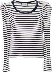 Alexis Onyx Stripe Top