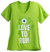 Mike Wazowski runDisney Performance T-Shirt for Women