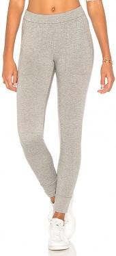 Stateside Viscose Fleece Sweatpant in Gray. - size L (also in M,S,XS)