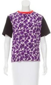 MSGM Printed Short Sleeve Top