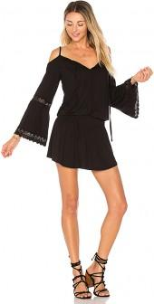 VAVA by Joy Han Morgana Dress in Black. - size L (also in M,S,XS)